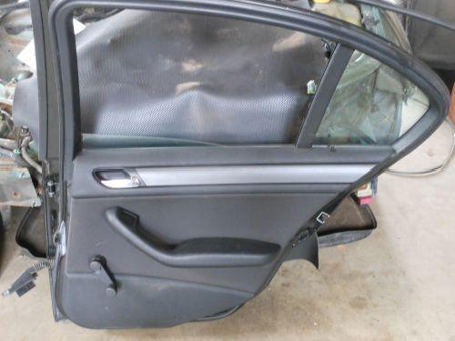 Tür rechts hinten ZV 4-Türer BMW 3 (E46) 316I