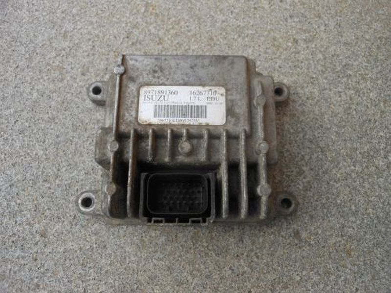 Steuergerät Dieseleinspritzanlage OPEL ASTRA G CC (F48_, F08_) 1.7 DTI 16V