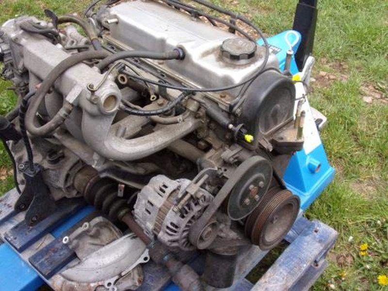 Motor ohne Anbauteile (Benzin) 114.472 kmMITSUBISHI COLT V (CJ_, CP_) 1300 GLGLX
